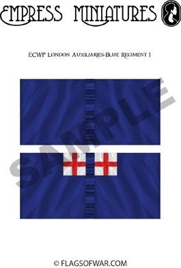 ECW  London Auxiliaries-Blue Regiment 1