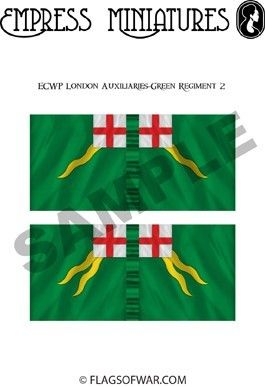 ECW London Auxiliaries-Green Regiment 2