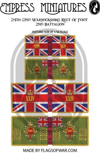 FLAG01 - 24th (2nd Warwickshire) Regt of Foot