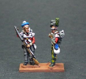 NB23- Highlanders flank company firing/loading wit