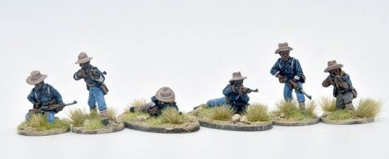 US9SA 9th 10th Cavalry (Buffalo soldiers) skirmish